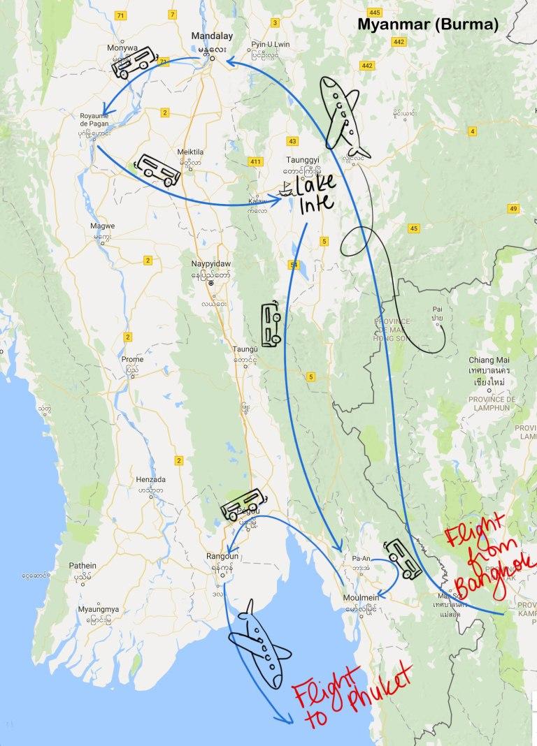 MAPS Birmanie