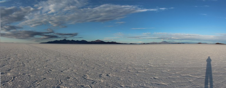 Panorama Salar Sunrise